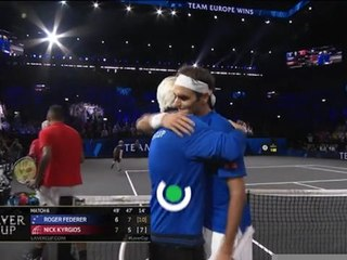 Laver Cup - Federer et Nadal brillent, Zverev battu par Isner