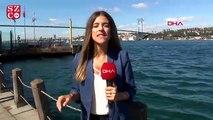 Boğazda kaçak midye avlayan tekne battı! Midyecilerin kurtarılma anları kamerada