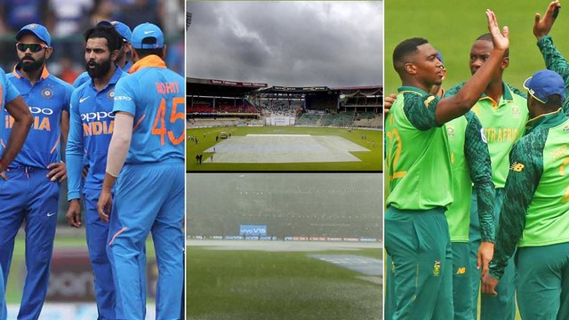 IND vs SA 2019 : India VS South Africa 3rd T20: Will Rain Affect The Final T20 ?