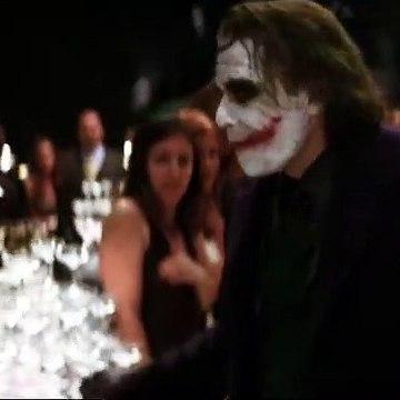 Now I'm always smiling _ The Dark Knight