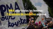 PMA pour toutes les femmes : l'Académie de médecine exprime des « réserves »