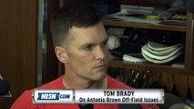 Tom Brady On Antonio Brown Off-Field Issues