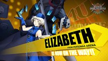 BlazBlue : Cross Tag Battle - Celica, Elizabeth, Tohru, Hilda et Susanoo