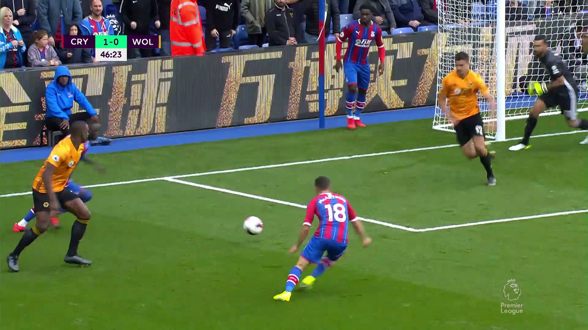 6. Hafta / Crystal Palace - Wolverhampton: 1-1 (Özet)