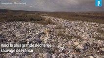Ils s'attaquent au nettoyage de la plus grande décharge sauvage de France