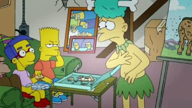 The Simpsons Season 23 Episode 7 - The Man in the Blue Flannel Pants