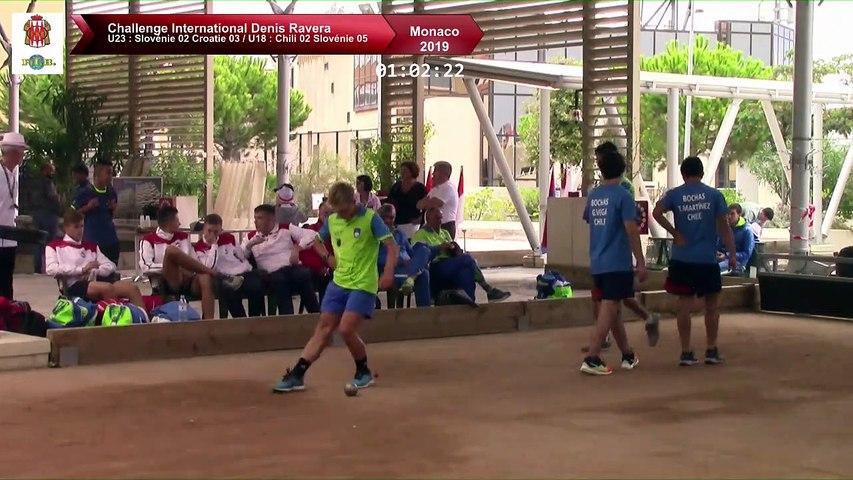 Finales double U18 et U23, Challenge International Denis Ravera, Monaco 2019