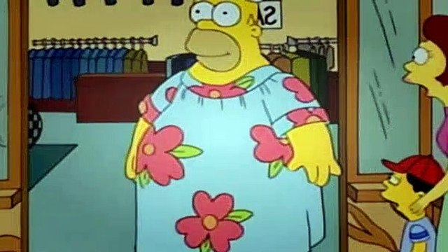 The Simpsons Season 7 Episode 7 - King Size Homer