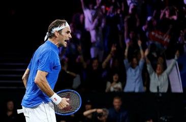 Laver Cup : Federer offre un match décisif à la team Europe