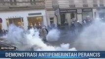 Demonstrasi Antipemerintah Prancis Rusuh
