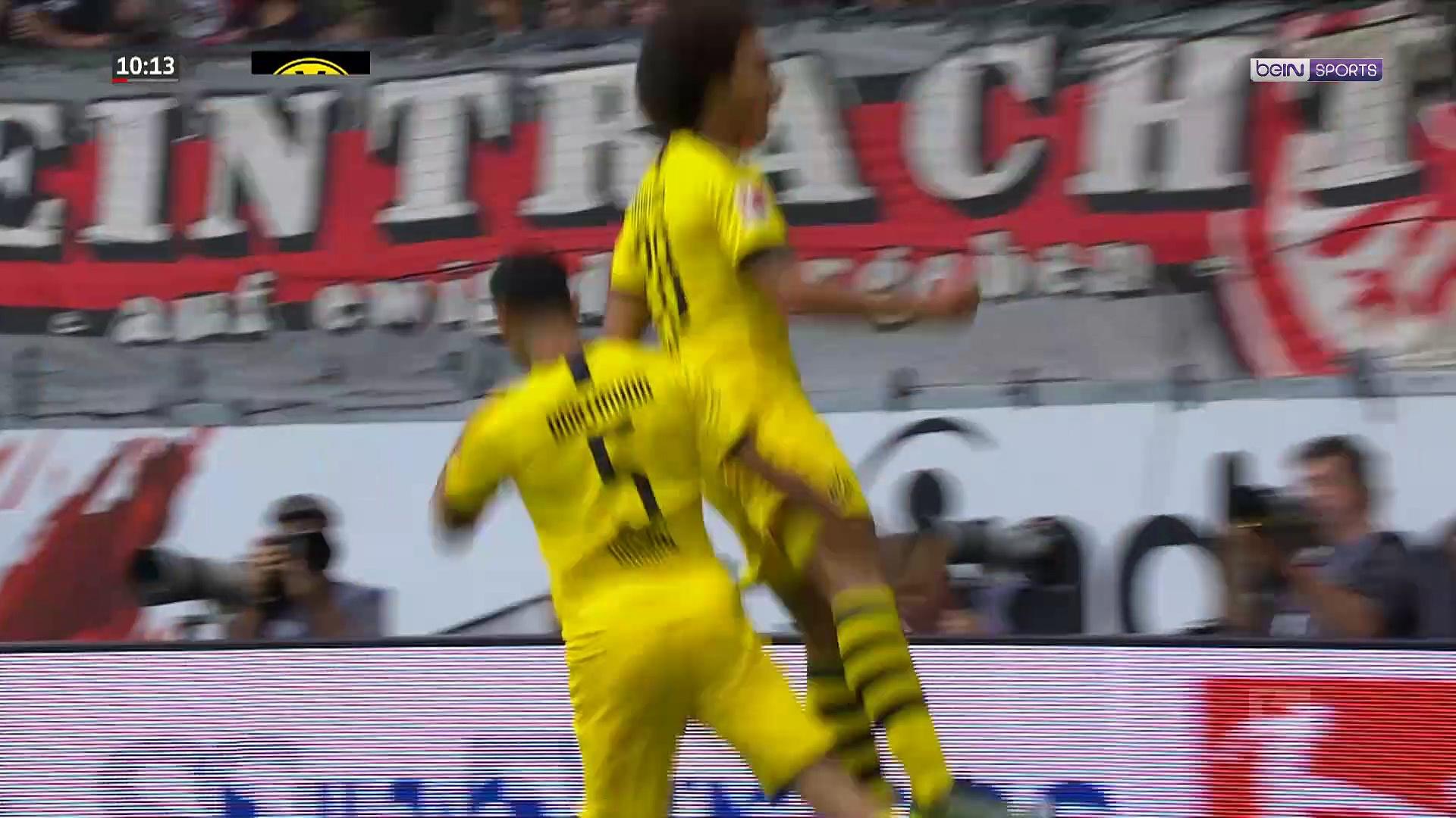 Bundesliga : Dortmund se saborde à Francfort