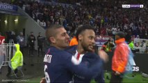 Neymar Scores Late Winner Against Lyon