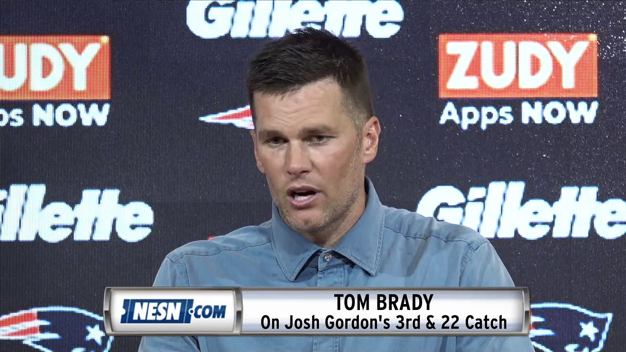 Tom Brady Patriots vs. Jets Week 3 Press Conference