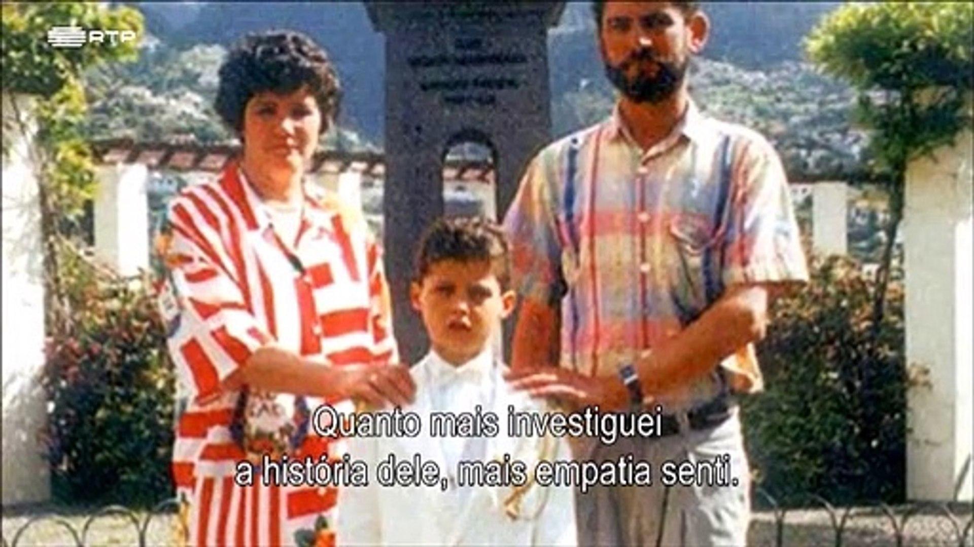 Cristiano Ronaldo fala sobre o pai e fica lavado em lágrimas