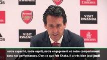 "6e j. - Emery : ""Xhaka sera meilleur si les supporters l'aident"""