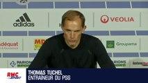 """OL - PSG : """"Neymar est à 100% avec nous"""" assure Tuchel"""