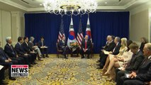 President Moon aims to speed up denuclearization, boost alliance with U.S. while in New York
