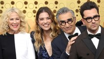 """'Schitt's Creek"""" Cast on Finally Being Recognized at the Emmys"""