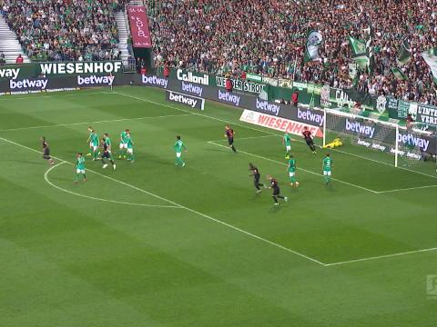 5e j. - Leipzig écrase le Werder et conserve son trône