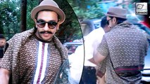 Ranveer Singh AVOIDS Papzz, Fears Traffic Jam