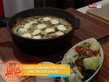 Idol sa Kusina: Spanish sardines frittata and wedge salad recipe