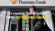 Le voyagiste Thomas Cook en faillite, 600 000 clients à rapatrier