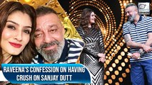 Did You Know Raveena Tandon Had A Crush On Sanjay Dutt?