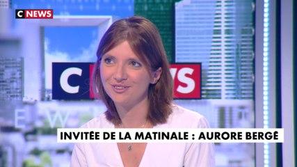 Aurore Bergé - CNews lundi 23 septembre 2019