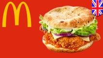 McDonald's launches naan bun chicken sandwich