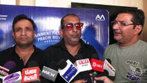 Kumar Sanu At Song Recording Of The Film 'Khalli Balli' By With Star Cast