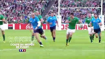Bande annonce de la Coupe du monde de rugby sur TF1 - VIDEO