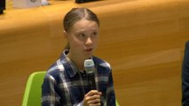Young people 'unstoppable', teen activist Greta Thunberg tells UN Youth Climate Summit