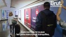 Ibrahim, arrivé à Paris en 2017, raconte son premier jour en France
