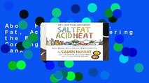 About For Books  Salt, Fat, Acid, Heat: Mastering the Elements of Good Cooking  Best Sellers Rank
