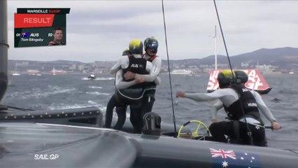 L'Australie remporte la première édition du Sail GP 2019