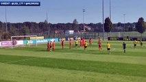 Le sublime coup-franc de Youssoufa Moukoko avec les U19 de Dortmund