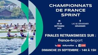 CHAMPIONNAT DE FRANCE SENIOR SPRINT ET CRITÉRIUM NATIONAL SENIOR SPRINT