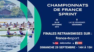 CHAMPIONNAT DE FRANCE SENIOR SPRINT ET CRITÉRIUM NATIONAL SENIOR SPRINT