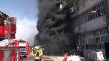 Başakşehir İkitelli Organize Sanayi Bölgesi Çevre Sanayi Sitesi çevresinde plastik hammaddelerinin bulunduğu bir fabrikada yangın çıktı. Olay yerine çok sayıda itfaiye ekibi sevk edildi.