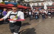 Nantes: Ce dimanche, c'était la course des garçons de café