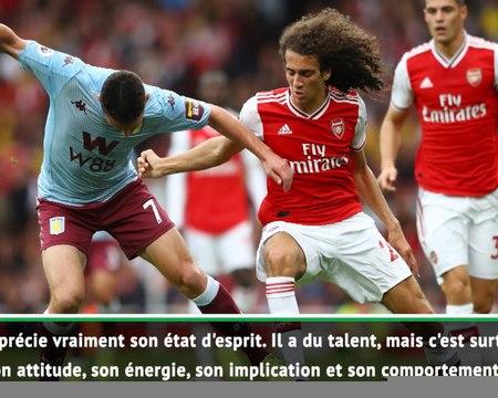 """Arsenal - Emery sur Guendouzi : """"J'aime ce type de joueur"""""""