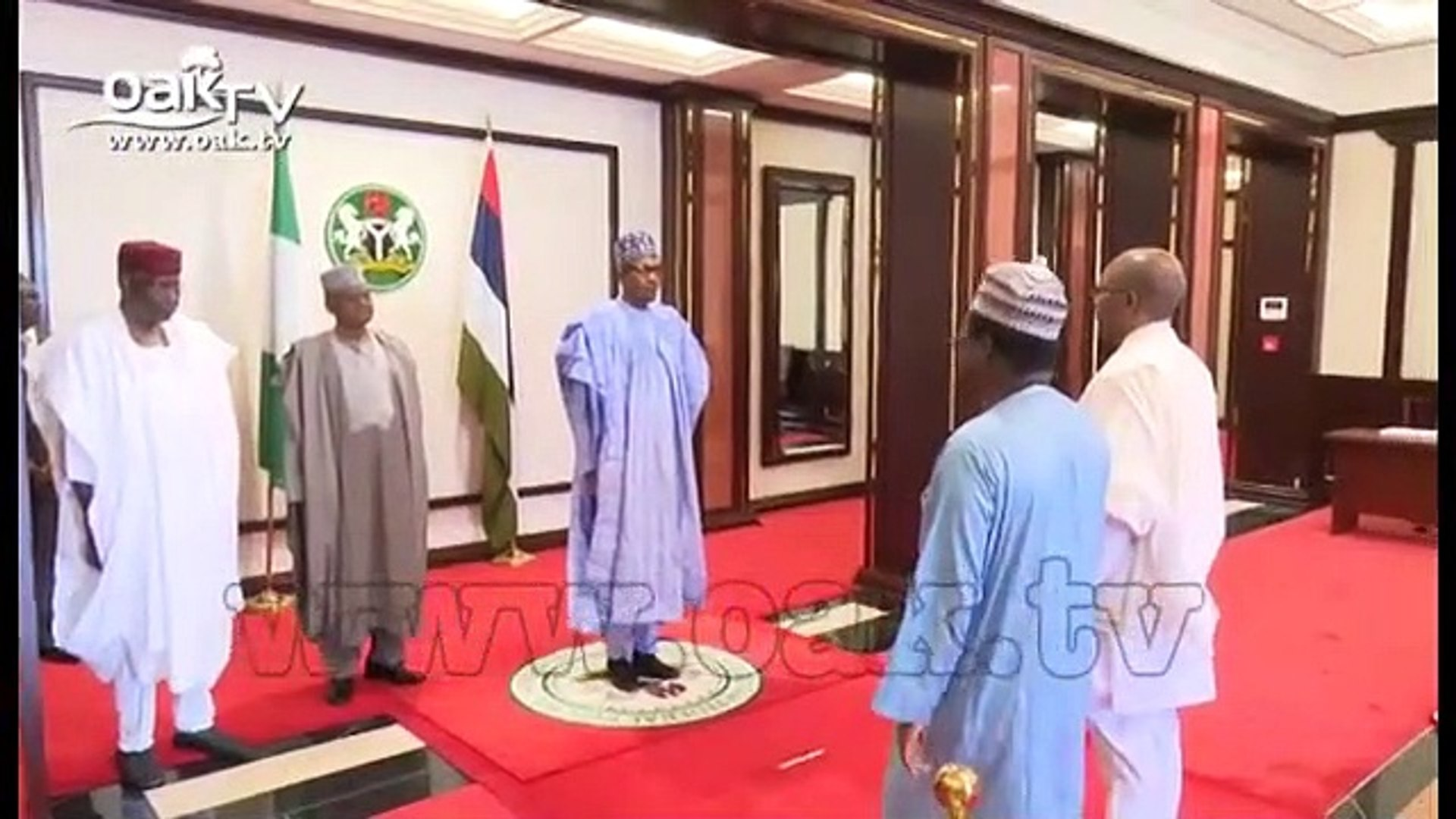 Buhari receives letter of credence from Ethiopia Ambassador to Nigeria