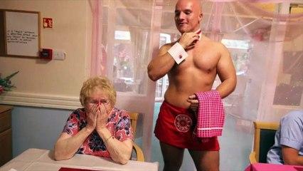 Dieses Altenheim engagiert nackte Kellner - die Rentner sind begeistert