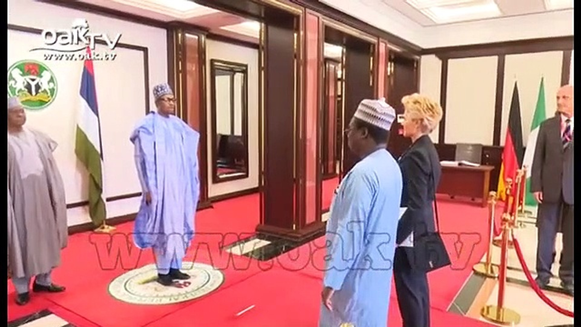 Buhari receives letter of credence from German Ambassador to Nigeria