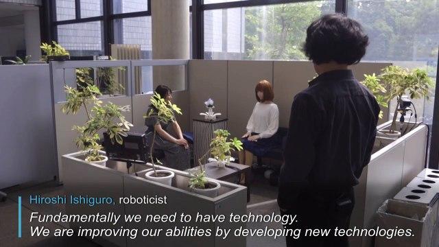 Au Japon, un roboticien brouille les lignes entre l'homme et la machine