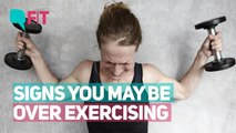 Could You Be Over Exercising? Signs to Watch Out For