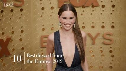 10 Best Dressed: Emmys 2019
