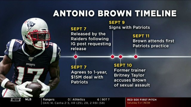 Antonio Brown Experiment In New England Ends After Just  11 Days