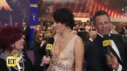 Emmys 2019 Watch Seth Meyers CRASH Phoebe Waller-Bridge's Interview