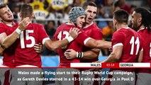 Fast Match Report - Wales v Georgia